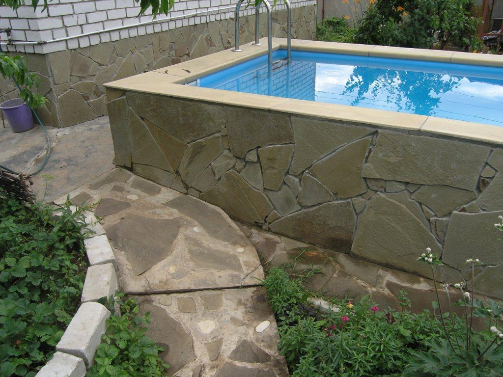 Бассейны для дачи из бетона своими руками